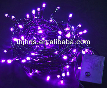 ce black wire led string lights with connectorpink christmas lights - Christmas Led String Lights