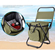 Multi-Function Outdoor Fishing Beach Ice Pack Chair