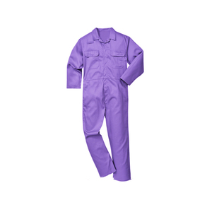 Custom women purple pink cotton yellow summer workwear coverall
