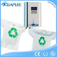Wall mounted no detergent portable ozone washing ozone laundry machine