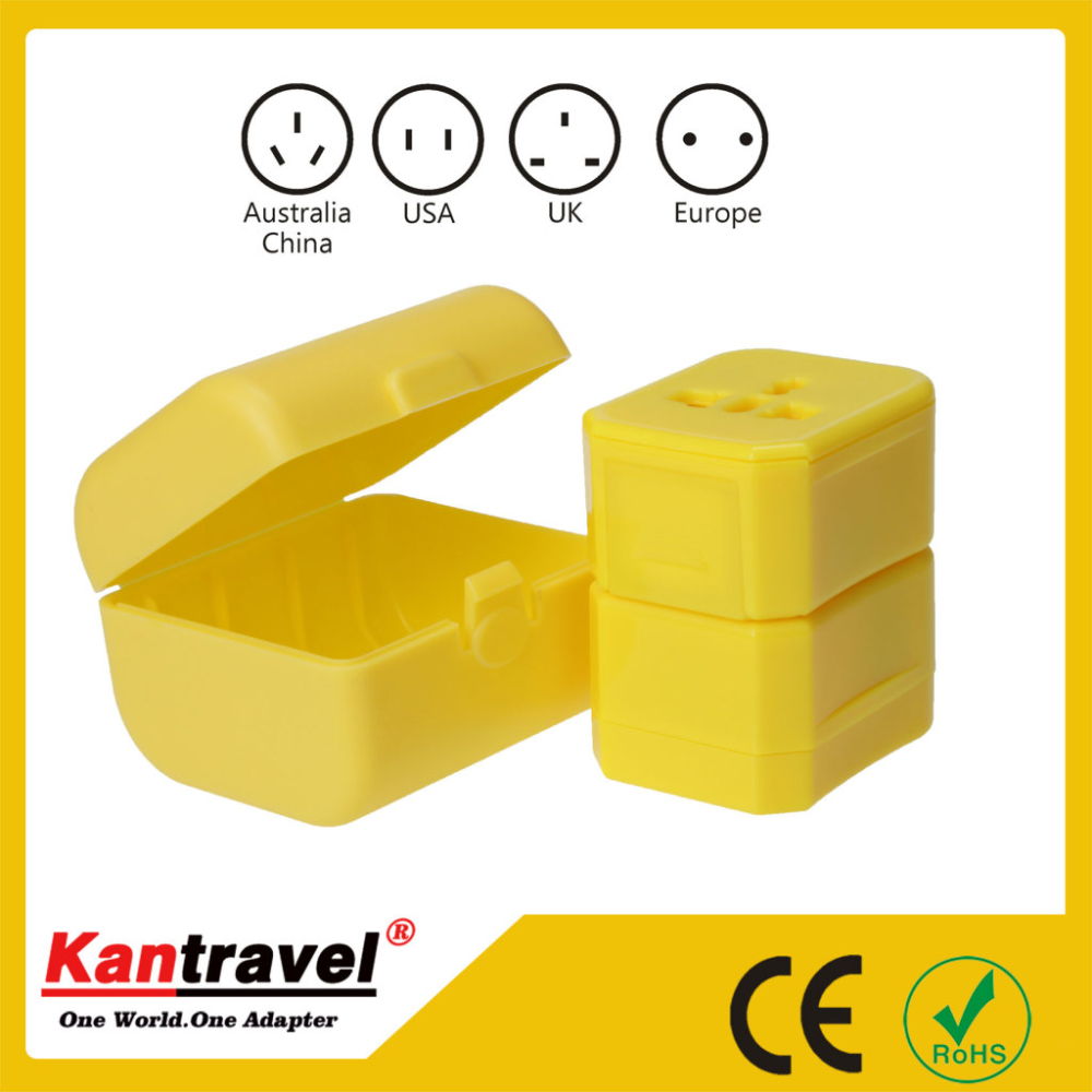 electrical accessories Importable material Good quality universal travel adapter
