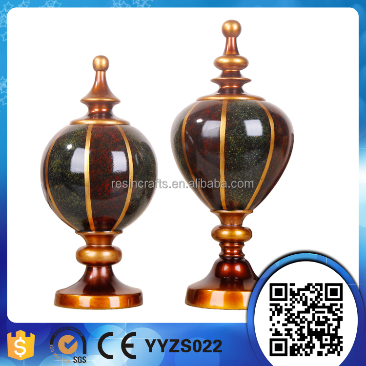 Wholesale various europe style customized polyresin home decor