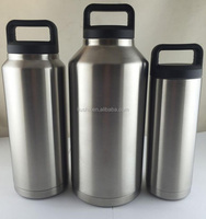 18oz/36oz/64oz stainless steel double wall vacuum bottle tumbler drinkware