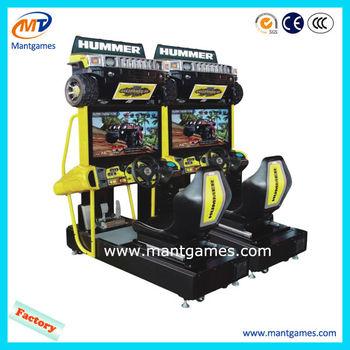 China Hummer Arcade Car Racing Game Machine