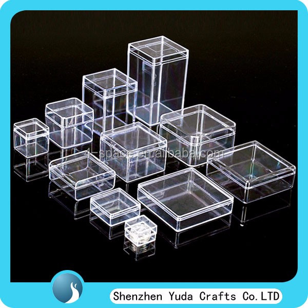 Acrylic Boxes Custom Made : Custom made clear plastic boxes for storage gift