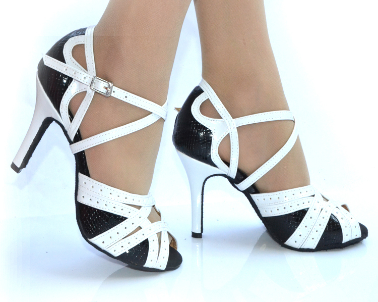 Black Salsa Dance Shoes