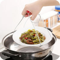 FT-007HB 2018 Hot Sale Healthy and Safety 2 Claws Kitchen Anti Hot Hot Bowl Clip