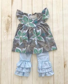 baby girl clothes boutique wholesale children s boutique clothing pearl  sleeve top  ruffle pants set e7c796da8a