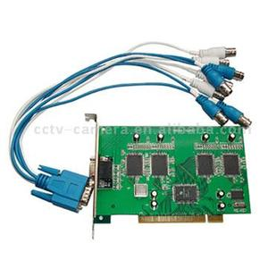 4 Channels Real-Time Audio & Video Real-Time Digital Video Capture Card (MPEG-4, MJPEG)