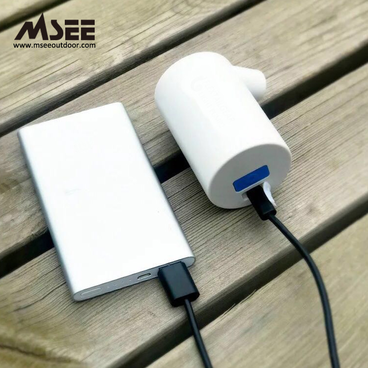 MSEE Produce MS-107 PCP usb air pump battery operated electric inflatable vacuum air pump