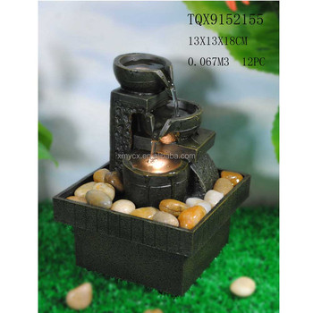 Mini Size Indoor Decorative Battery Operated Water Fountain Product On Alibaba