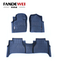3D car floor mat used for Nissan NP-300 from Fandewei with TPV environmental protection material