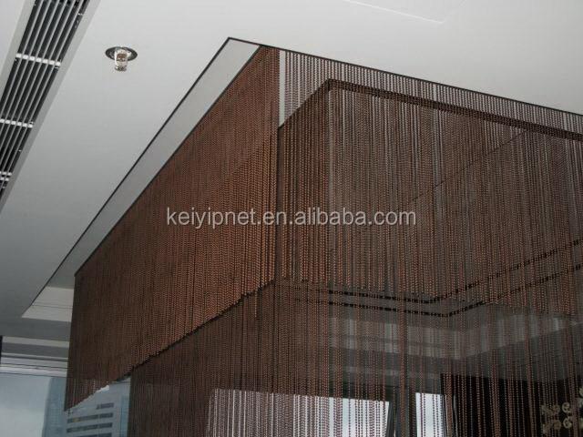 edelstahl kugelkette metall perlenvorhang buy product on. Black Bedroom Furniture Sets. Home Design Ideas