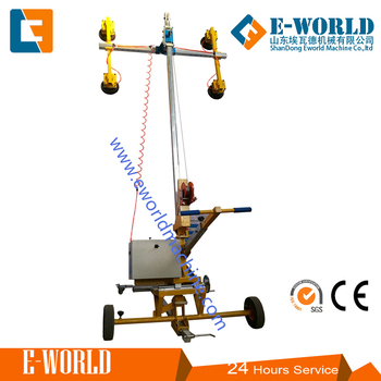 Forklift glass vacuum lifter