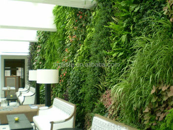 vertical garden artificial plants outdoor artificial grass wall fake