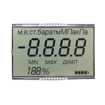 Factory price custom size 7 segment lcd display