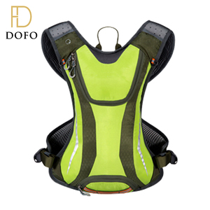 Wholesale custom waterproof nylon green cycling running hydration bladder water bag