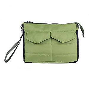 SODIAL(R) iPad Sleeve Handbag Pouch Cover Bag for Mini ipad 1/2/3/4/5 Air 10 Inch Case(Green)
