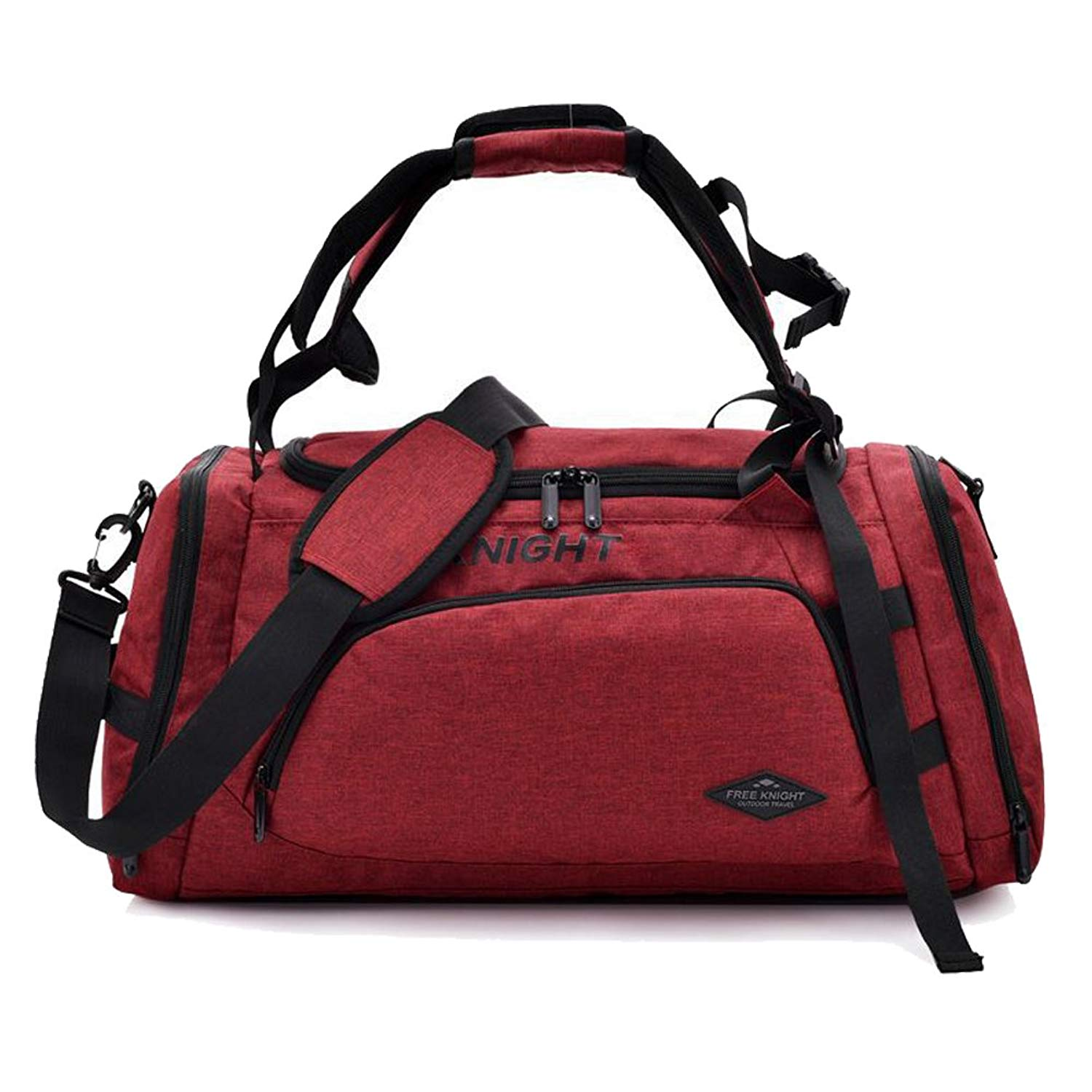 191cbbf92b7f Get Quotations · SLIN Travel Duffles Travelling Bag Sports Holdall with  Special Shoes Space