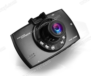 Promotional gifts 2.4'' TFT Screen 4 LED Lights Driving safety Car Dash Camera for car driving emergency recording