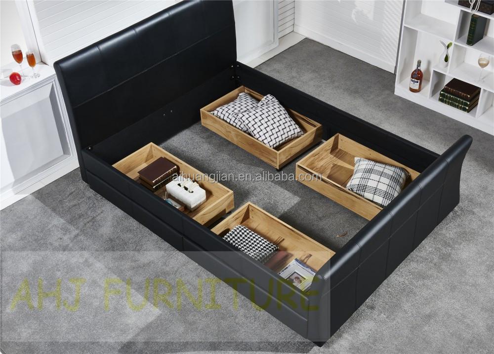 Cheap queen cama con cajones barato 4 cajones camas for Cama queen size con cajones