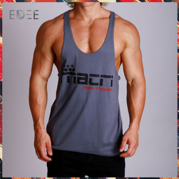1f0fde7818d8e6 Customized Bodybuilding Wholesale Stringer Tank Top