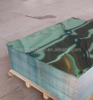 Super Thin Glass Mirror Cheap 1mm Colored Sheet