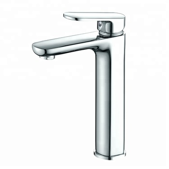 Interior Bath Decoration Single Handle Classic Sink Washbasin Faucets Brass Water Basin Tap