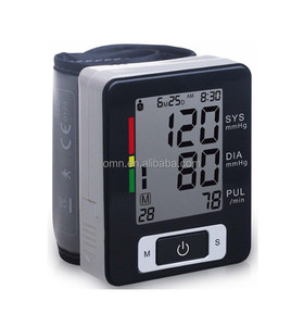 Advanced High Accuracy Best Portable Digital Automatic Watch Wrist Cuff Blood Pressure Monitor bp Heart Beat Pulse Rate Meter