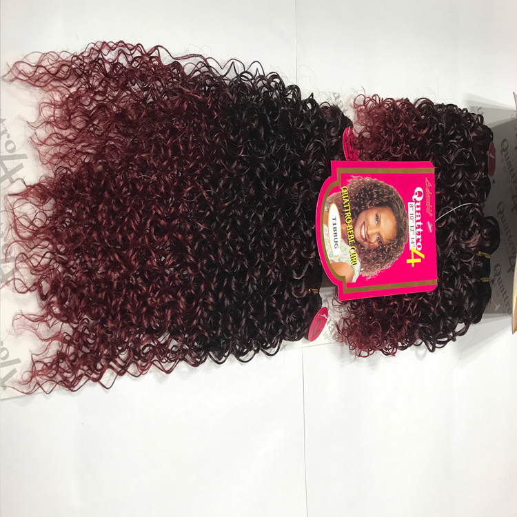 Brand new heat resistant bebe curl synthetic hair braids xpression for braiding