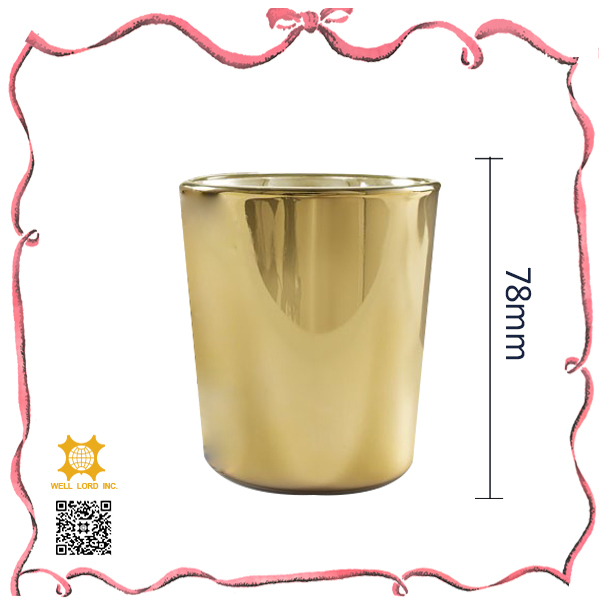 High quality home decorative empty candle jars wholesale