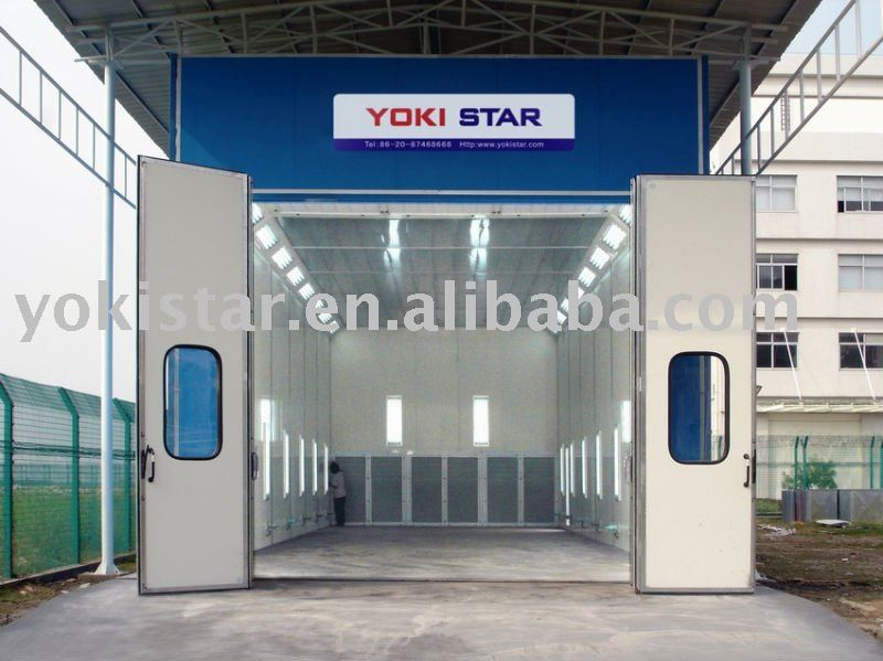 Large Powder Coating Booth Is A Model Spray Booth With Belimo ...