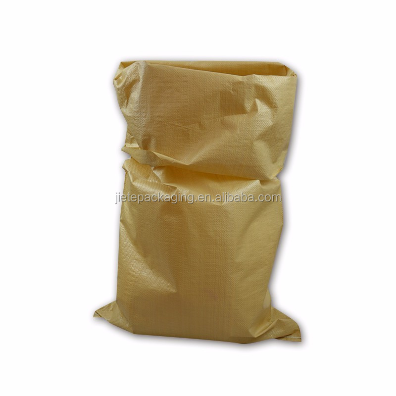 Direct manufacturer recyclable 50 kg polypropylene woven pp fabric plastic packing bag for agriculture industrial use