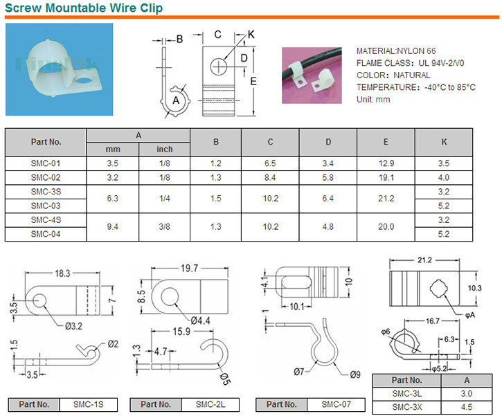 HTB1Ly9yHVXXXXaHXXXXq6xXFXXXl plastic screw tie mount r type cable clamp nylon 66 material nylon  at alyssarenee.co