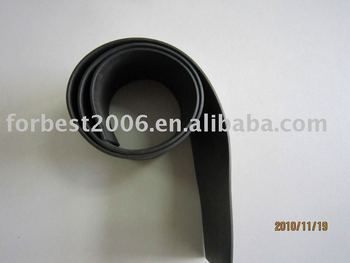 BLACK EPDM foam rubber sheets