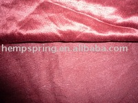 hemp /silk satin fabrics