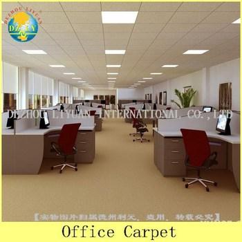 Grey And White Colour Pattern Office Carpet/bank Carpet/exhibition Carpet