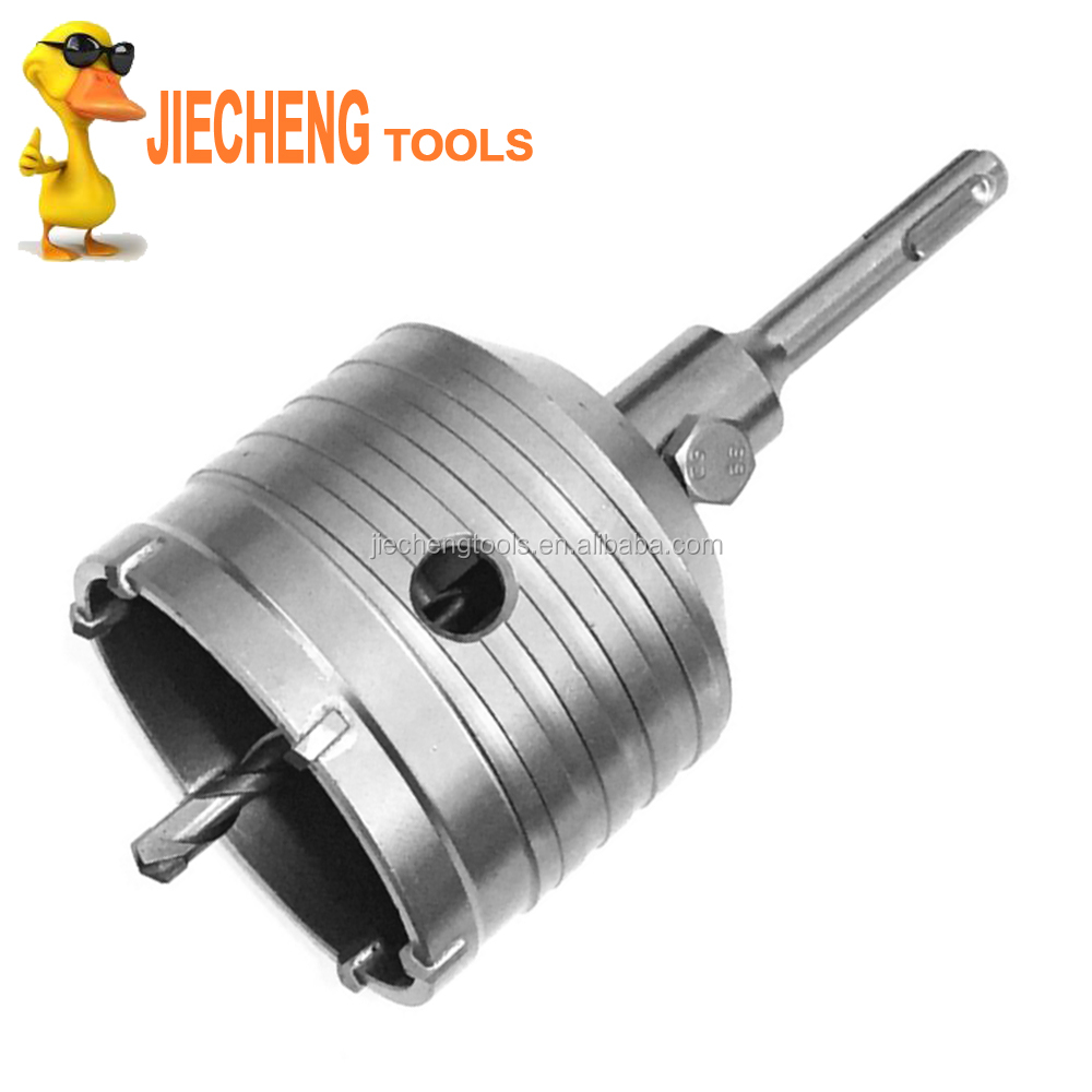 Concrete Drill Bits Hole Saw Cutter core bit Brick Cement Stone Wall SDS PLUS MAX HEX shank
