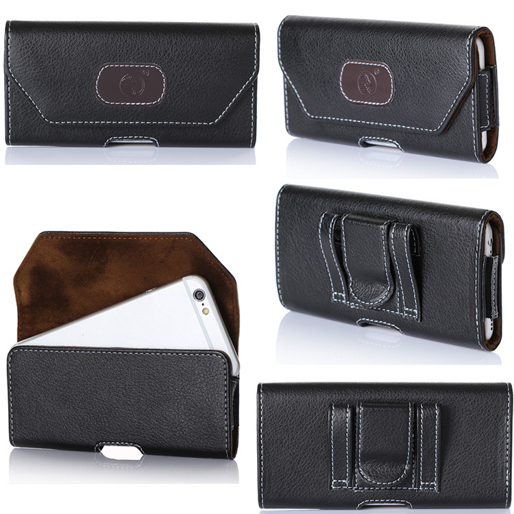 Guangzhou Suppliers PU Leather Phone Case With Belt For iPhone 6 4.7inch For Men