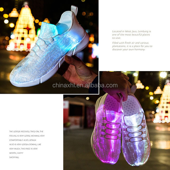 LED Customize Glow Customize Shoes Safety Safety cPSf0qW