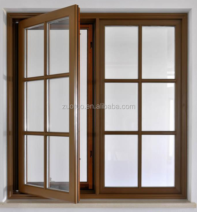 Graceful aluminum casement window interior french window for Windows and doors prices