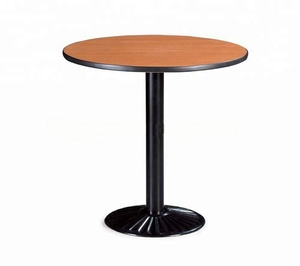 Cheap folding square round wooden restaurant dining coffee table