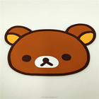 Custom soft PVC bear shape fridge magnet
