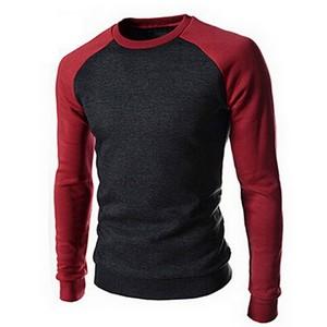 Custom Made Men High Quality Long Sleeve 100% Cotton T Shirt