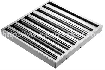 Stainless Steel Kitchen Exhaust Hood Grease Baffle Filter Buy