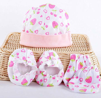 47a7226498dc 100% Cotton Baby Mittens