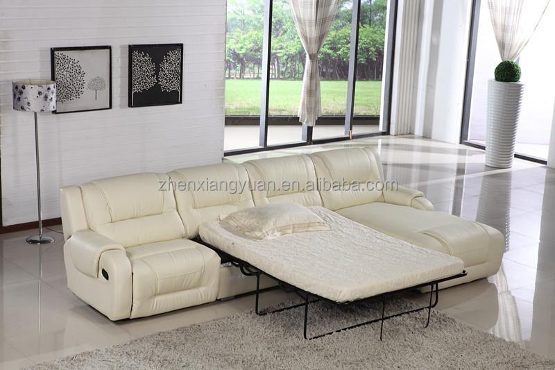 wohnzimmer möbel l form leder schlafsofa,l-förmig sofa mit liegen