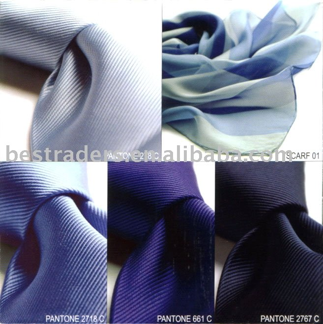 silk necktie and Scarf