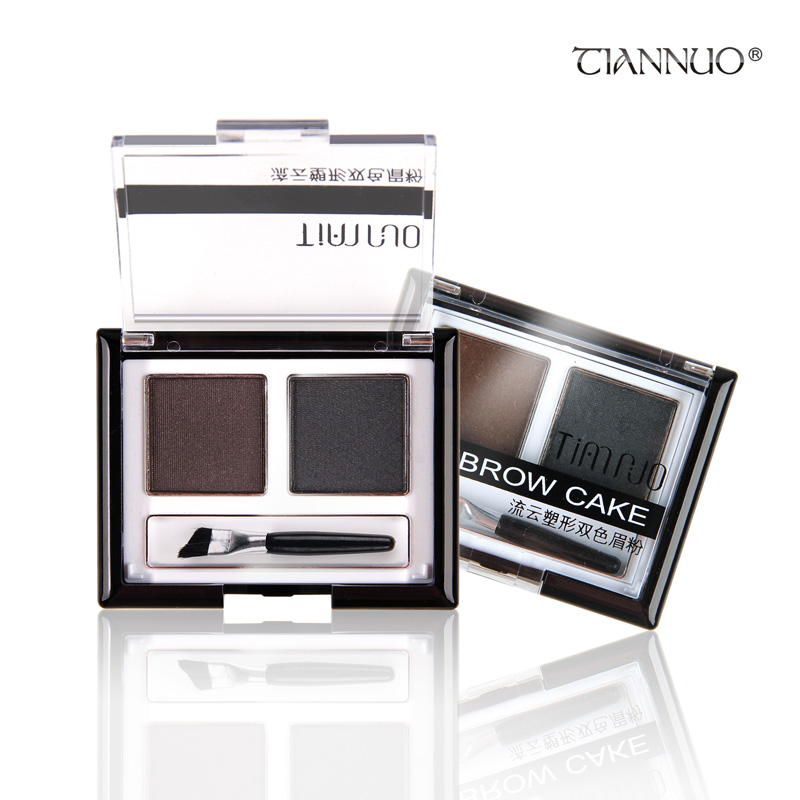 Waterpoof Eyebrow Powder Double Color Small Case