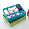 2014 best selling products polyester collapsible Underwear Storage Box